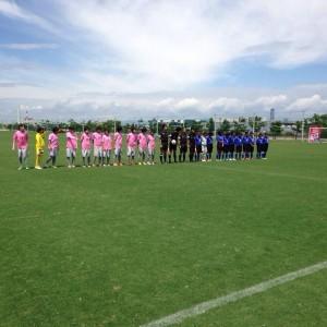 中学校女子サッカー部フェスティバル(写真1)