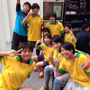 中学校女子サッカー部フェスティバル(写真4)